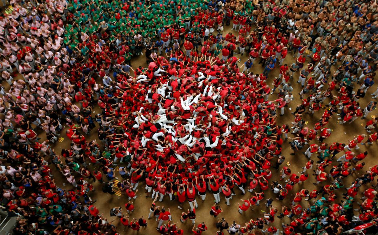 TARRAGONA - XXV concurso de castells de Tarragona.