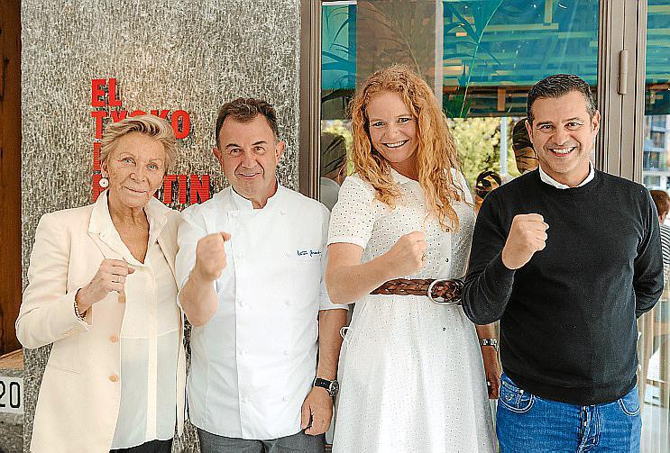 Martín Berasategui inaugura en Palma