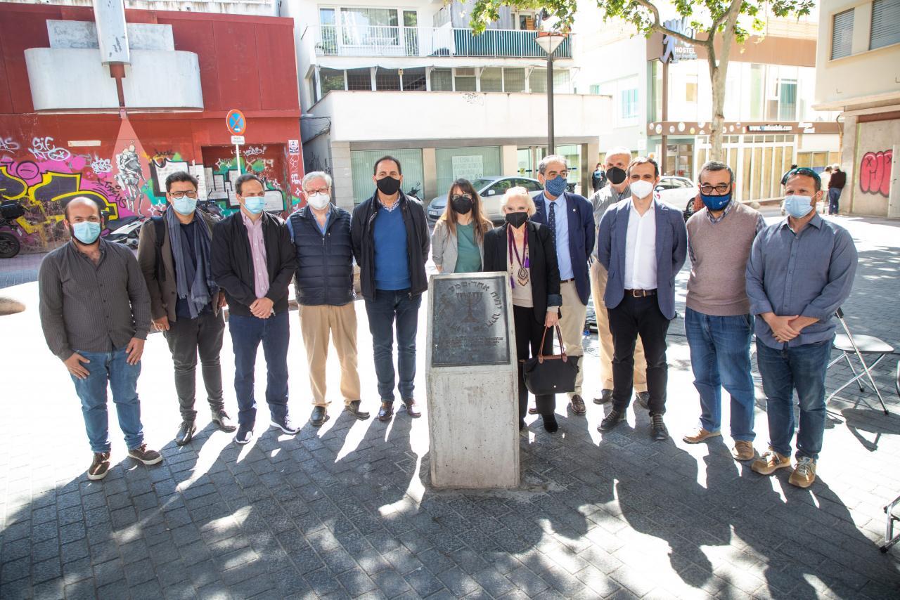 PALMA. JUDIOS. El Ajuntament recuerda a los judíos mallorquines víctimas de la Inquisición.