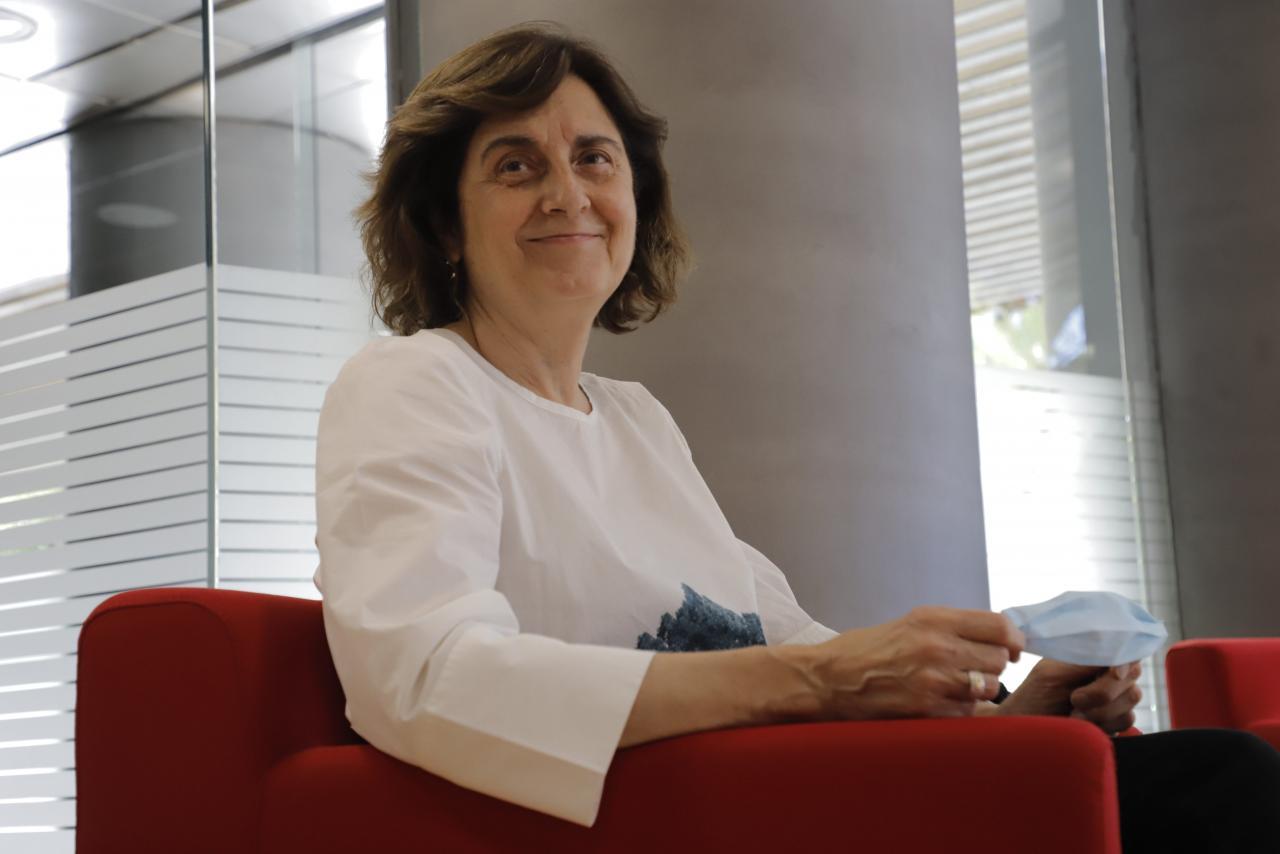 María Carrera, paciente con covid persistente