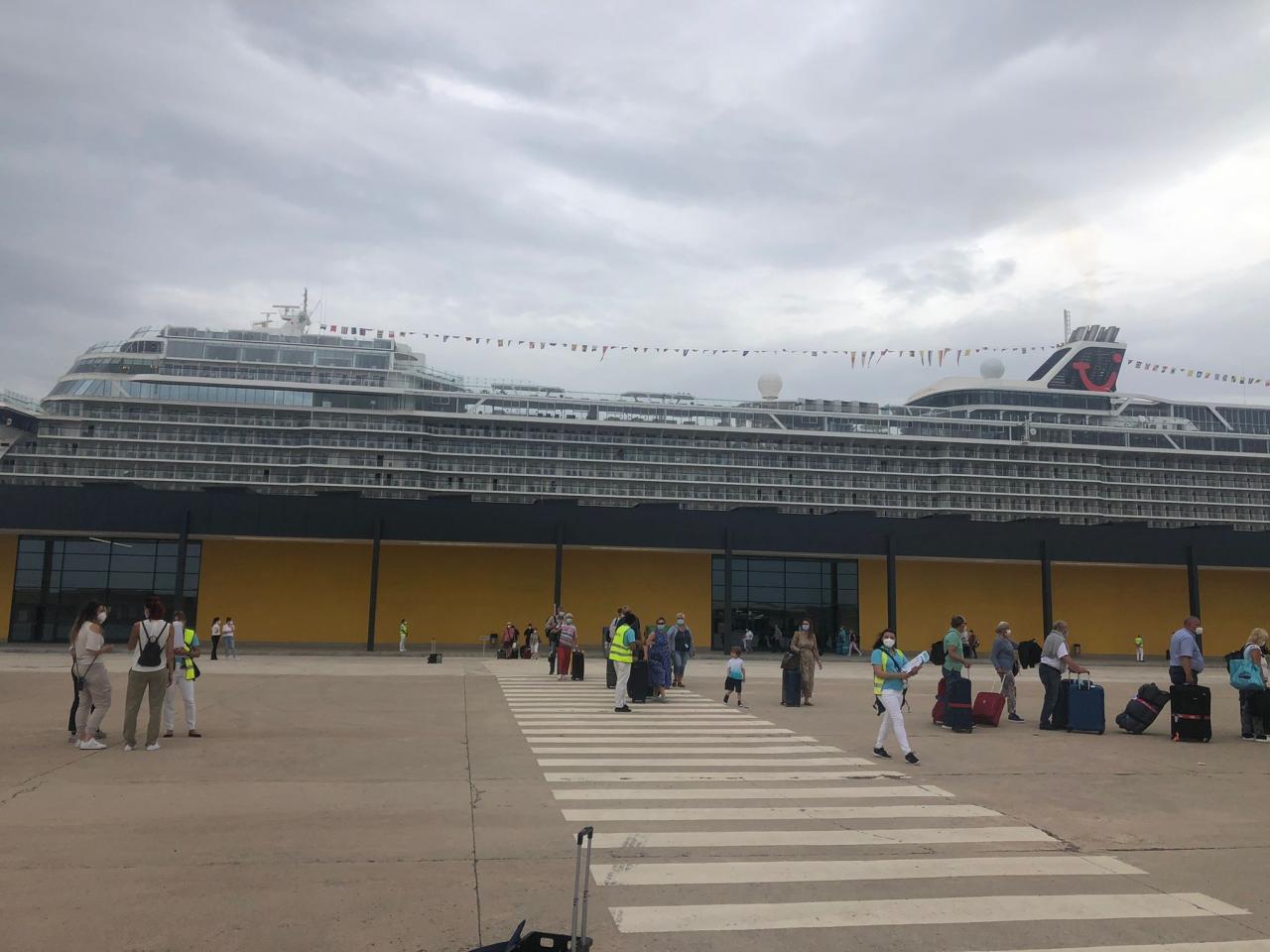 Cruceristas a la vista en Palma