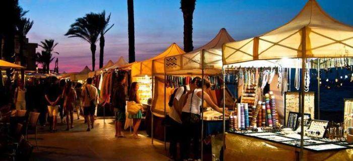 Mercado hippie Formentera