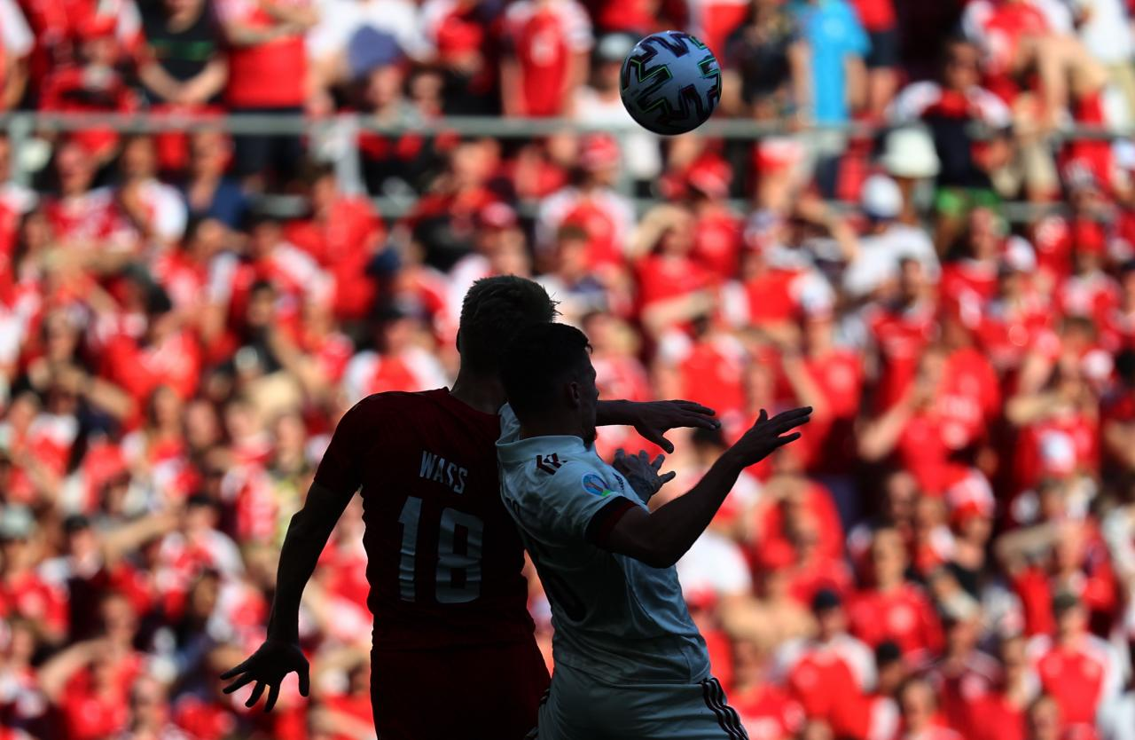Group B Denmark vs Belgium