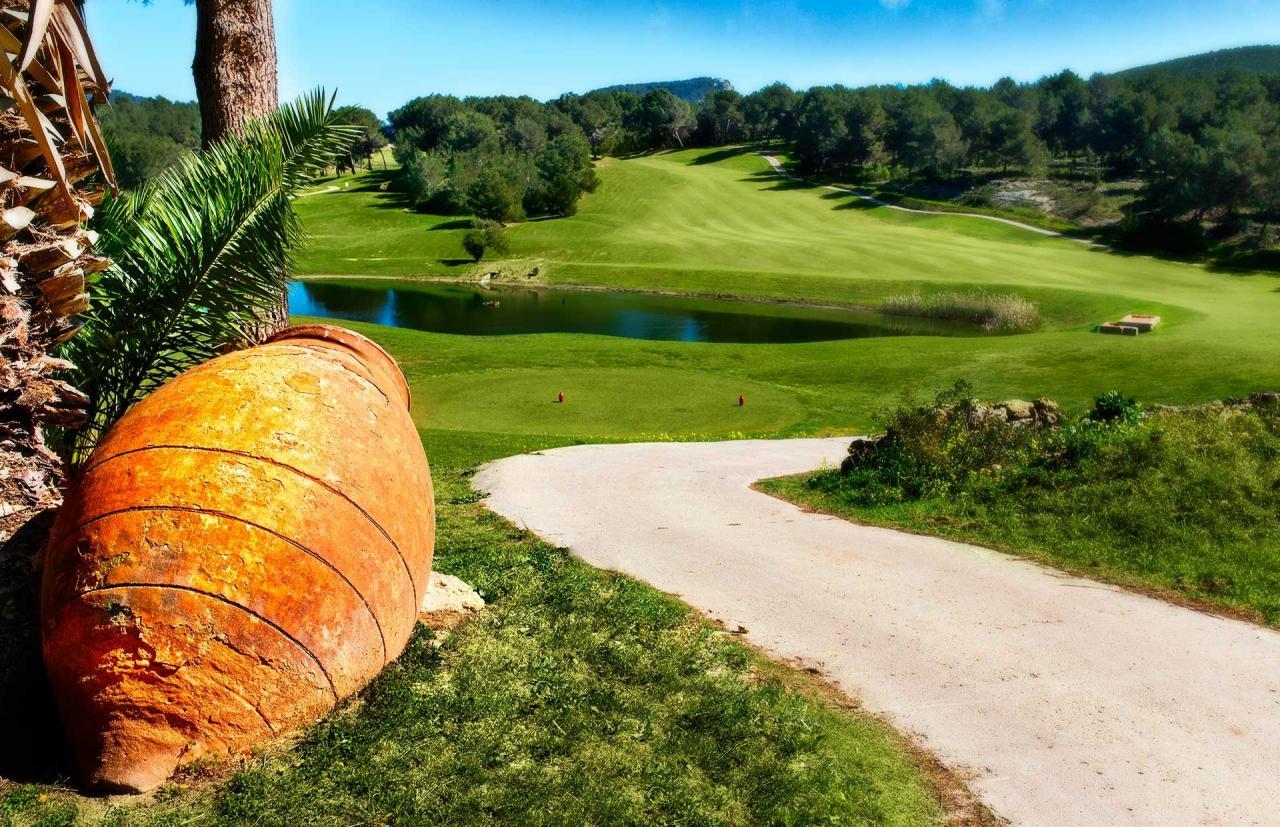 Campo de golf Ibiza.
