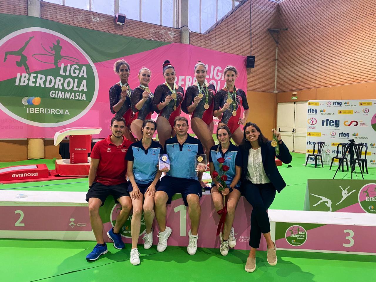 El Xelska manda con autoridad en el inicio de la Liga Iberdrola de gimnasia