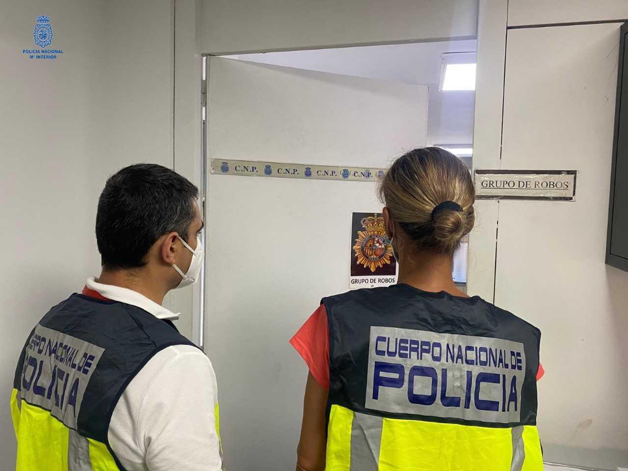 Los detenidos en Palma por robar en un hotel de Alcúdia actuaron cuando los clientes dormían