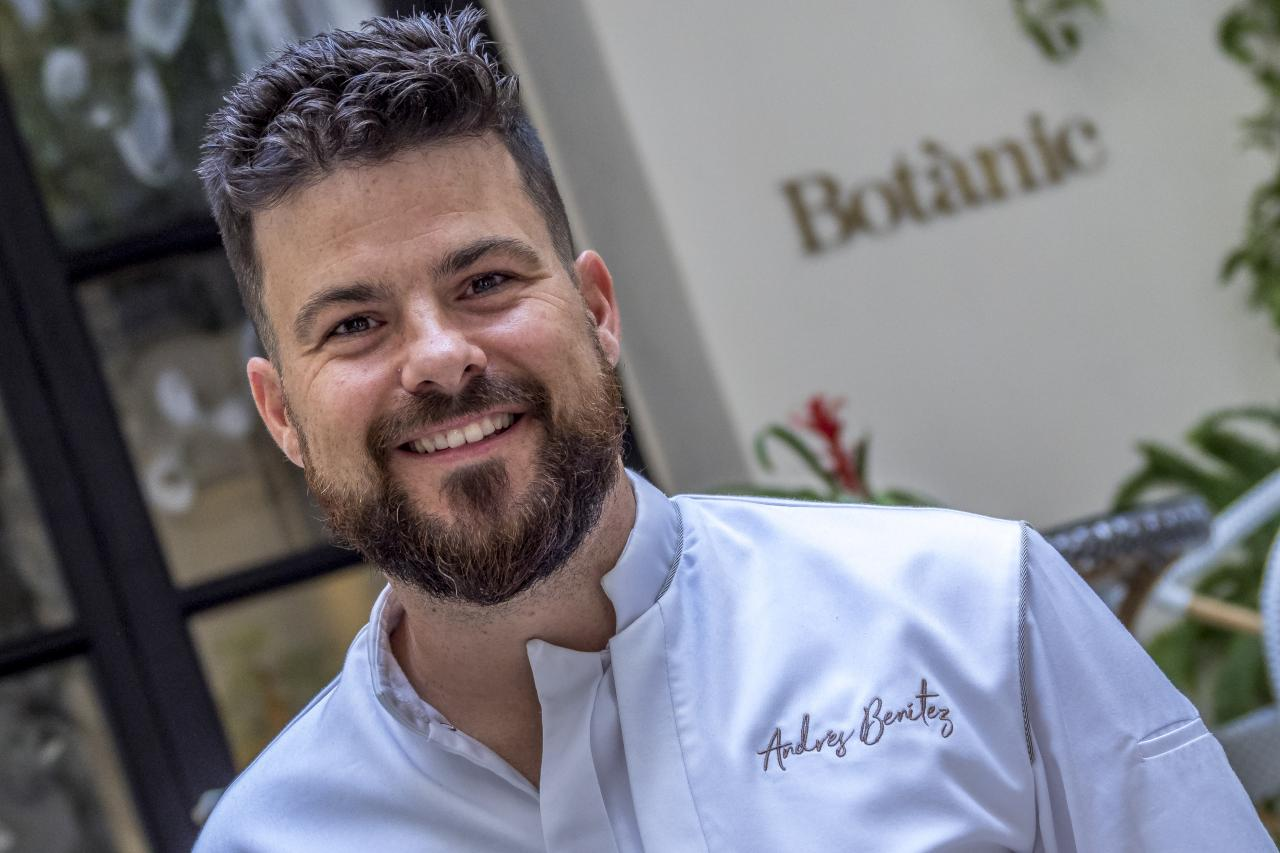 Andrés Benítez de Restaurante Botànic