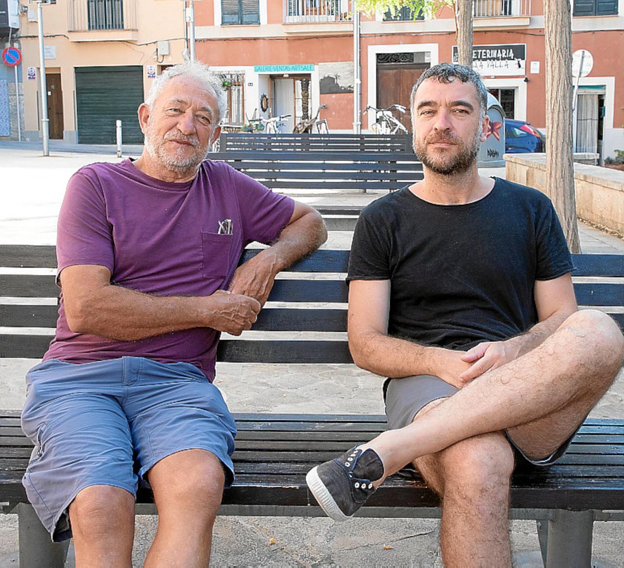 Pep Forteza y Miguel Forteza