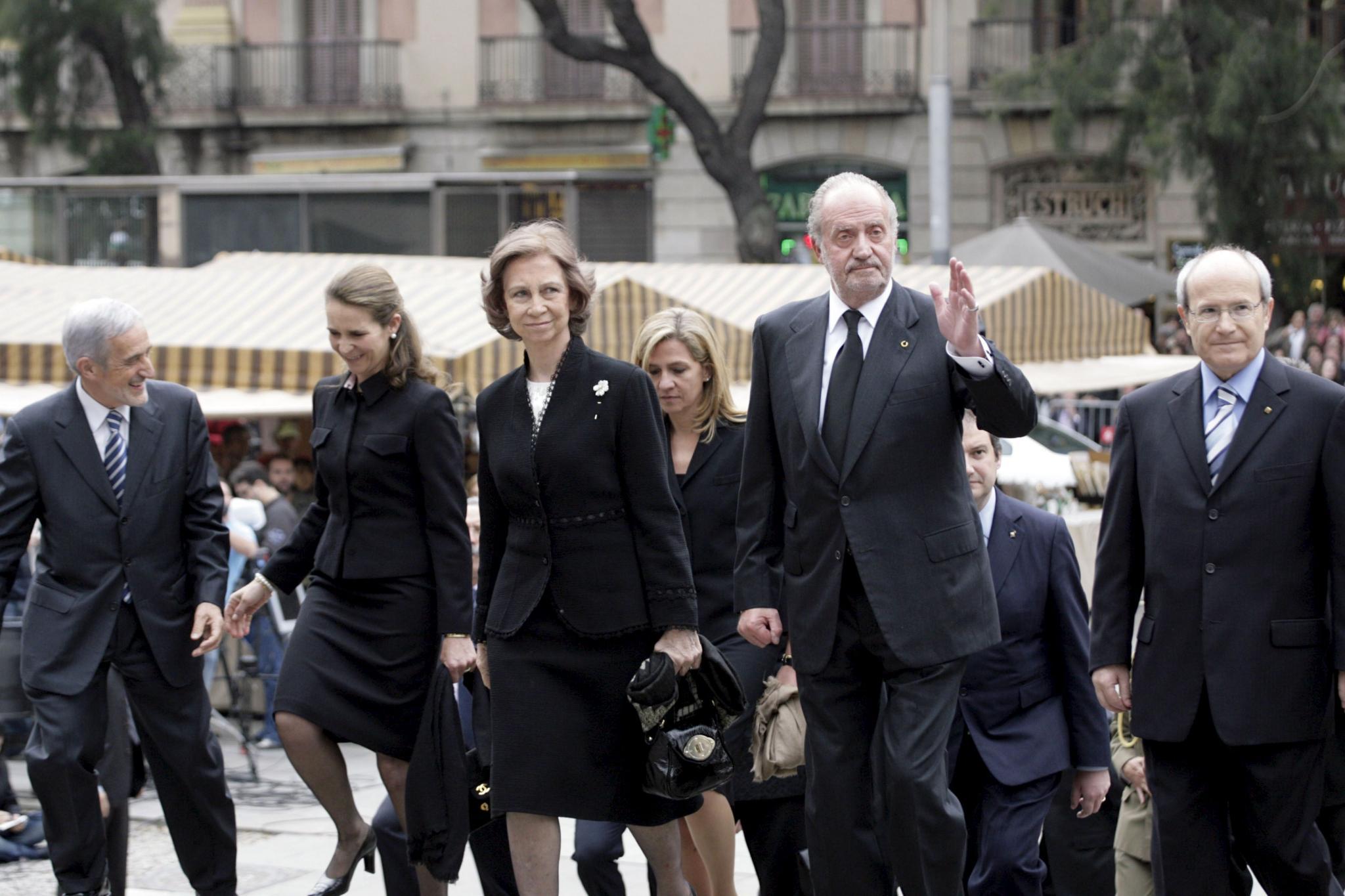 El mundo del deporte da su último adiós a Juan Antonio Samaranch
