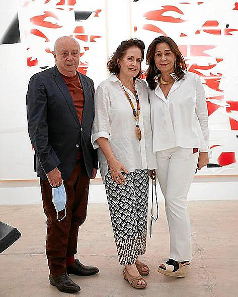 Inauguración de la galería Baró