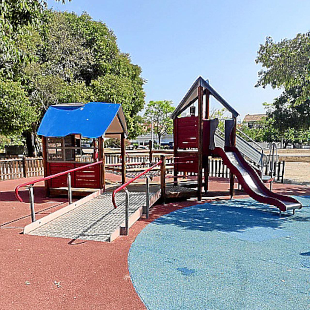 Imagen del parque donde sucedió