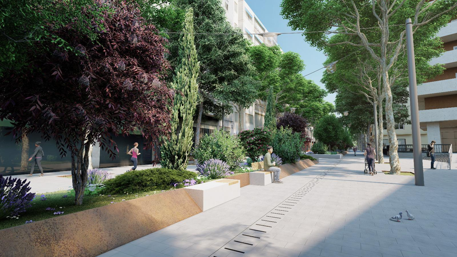 Cort adjudica las obras de la peatonalización de Nuredduna que durarán ocho meses
