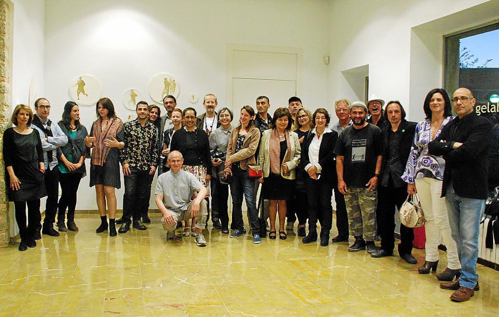 Inaugurada en Can Gelabert una muestra de Mallorca Translocal Meeting