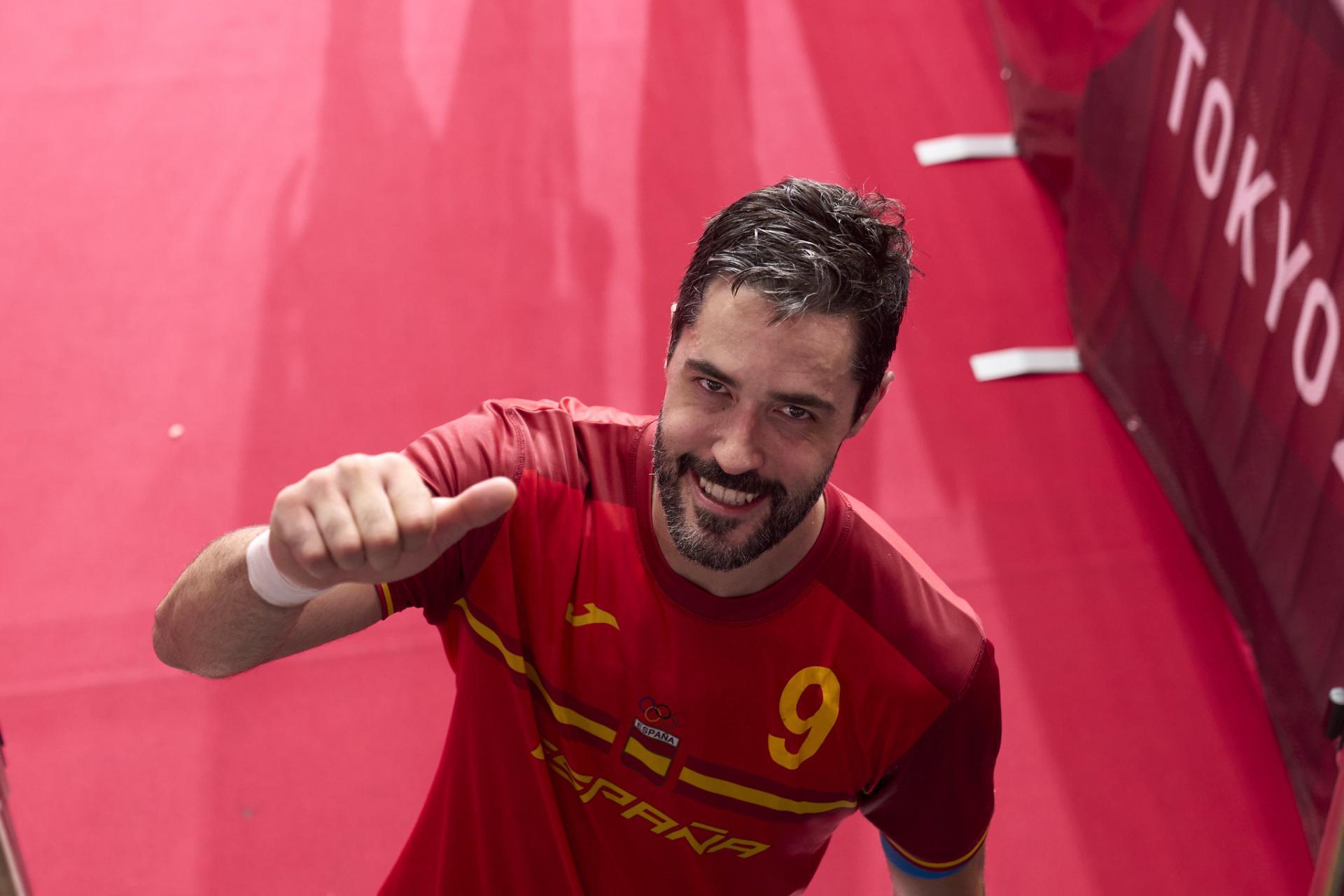 Los 'Hispanos' se despiden de Raúl Entrerríos con una medalla de bronce en balonmano