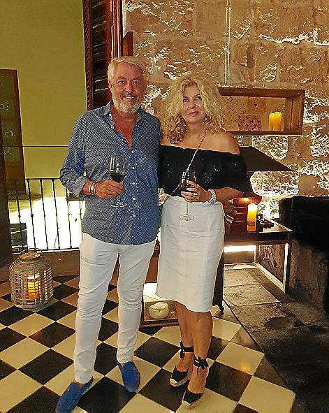 Belén Blanco y Juanjo Fraile