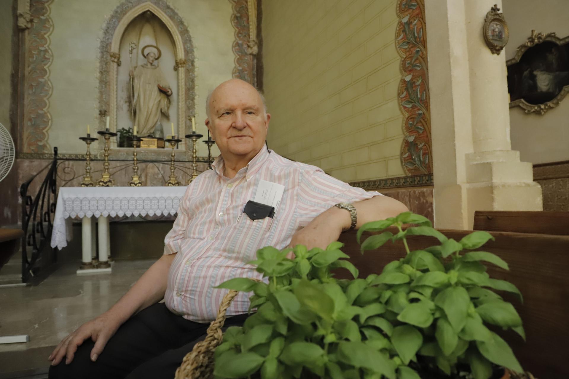 palma josep amengual padre superior monasterio la real foto morey