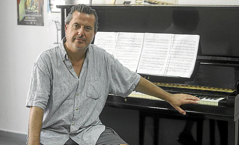 EIVISSA. MUSICA. Andreu Riera , Pianista y concertista.