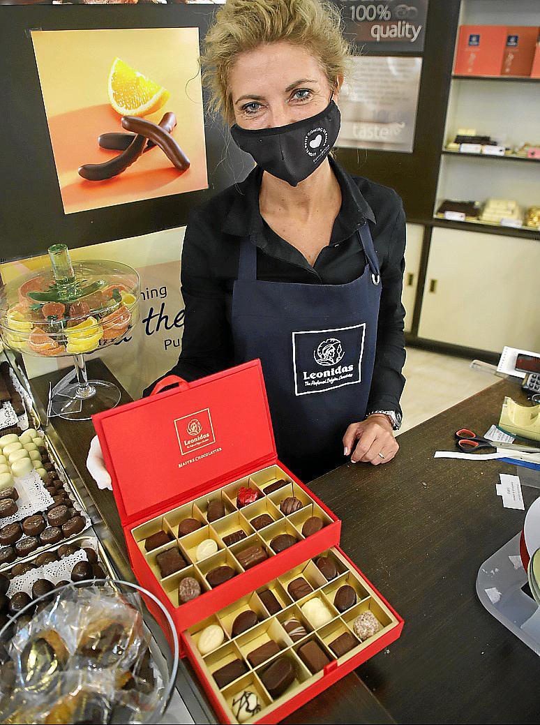 Pastelería de Bélgica Bombonería LeónidasFOTO:PERE BOTA