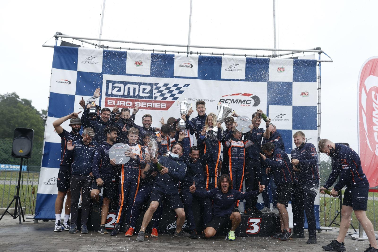 Luna Fluxá hace historia en las IAME Euro Series de karting