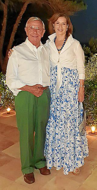 Cena de Álvaro Marañón y Mercedes de Valenzuela