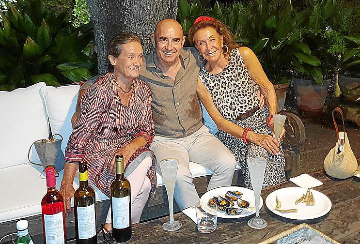 Cena de Joan Bennassar y Cristina Escapé