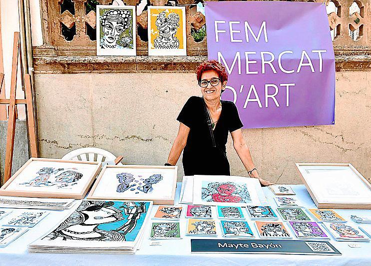 Fem Mercat d'Art 2021 en Bunyola