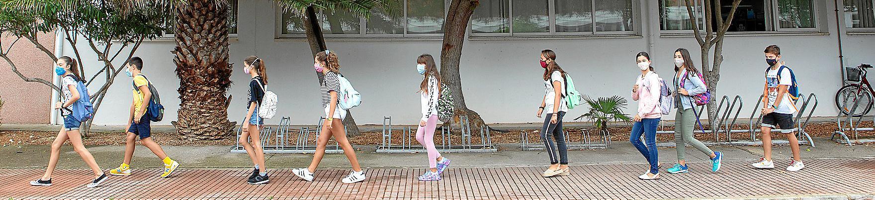 Baleares es la única comunidad española donde crece la población escolar