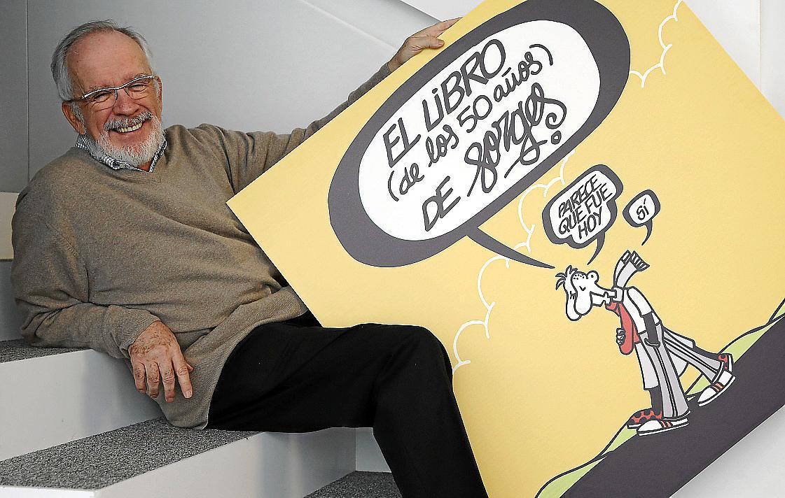 David Ajá, ÁlvaroPons, Tom Gauld y Forges, en el Còmic Nostrum