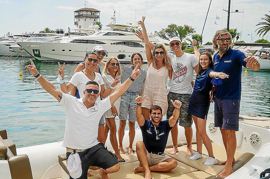 Portals Sailing Week y el equipo de Corinna Graf