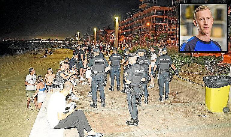 Varios implicados en el crimen del turista holandés de la Platja de Palma negocian su entrega.
