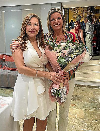 Patricia Chinchilla y José Luis Mesas