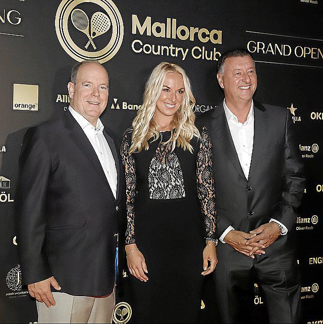El Mallorca Country Club celebra su inauguración oficial con la presencia de Alberto de Mónaco