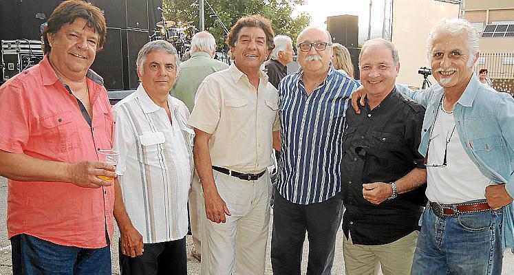 Músicos de los 60