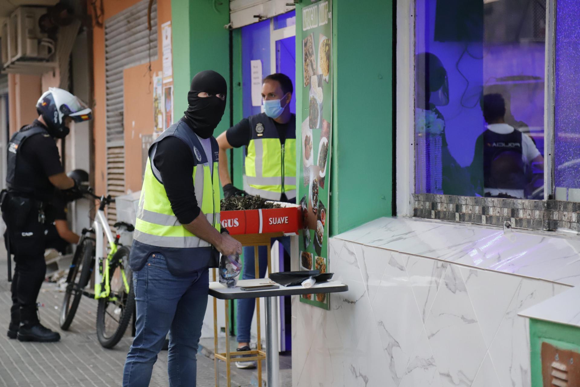 La policía detecta un importante aumento de consumo de heroína en las calles de Palma
