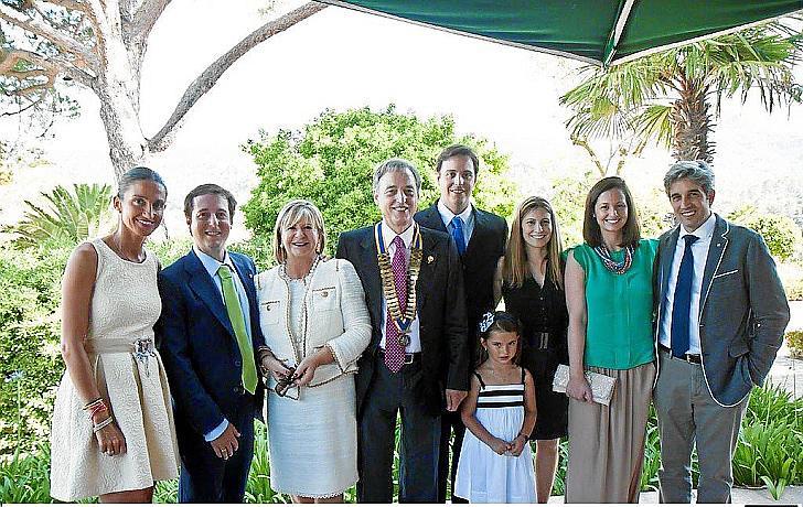 Relevo en la presidencia del Rotary Club Mallorca
