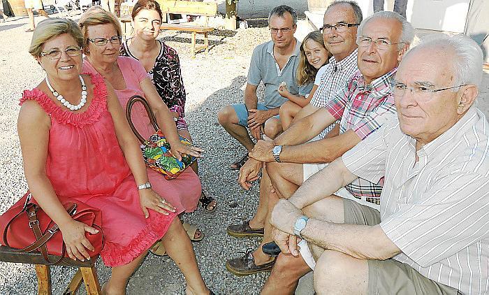 Jornada solidaria en las bodegas Can Vidalet de Pollença
