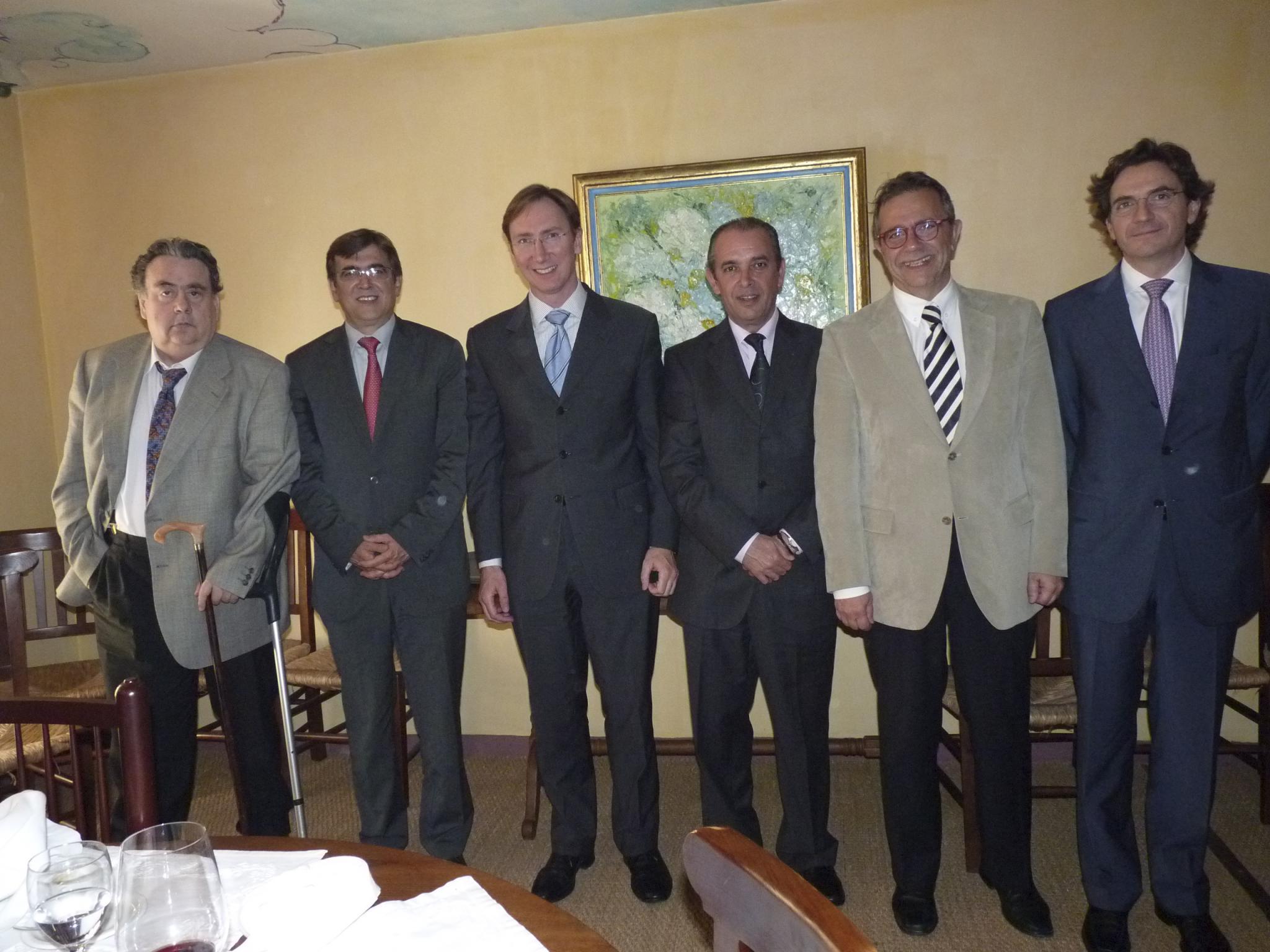 Francesc Antich  ofreció un almuerzo a los  cónsules de países europeos
