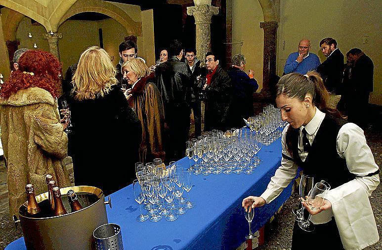 Cava para un fin de fiesta austero en el Casal Solleric