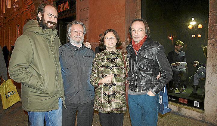 Lourdes Murillo y Bartomeu Sastre presentan su obra en el Casal Solleric