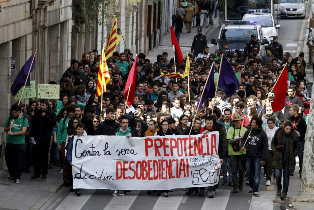Escaso seguimiento de la huelga de estudiantes en contra de la LOMCE