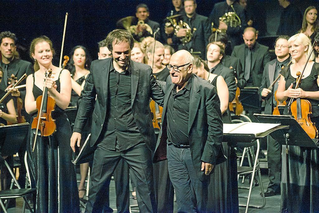 Un filme recoge el 'making off' de la grabación de Nyman en Mallorca