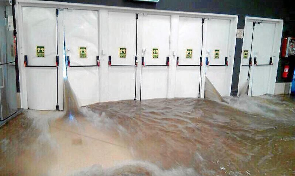 Las secuelas del temporal en Palma