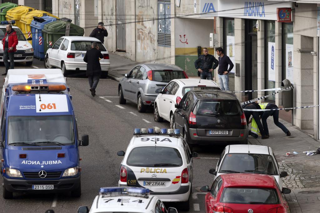 Mueren una policía y un ladrón en un atraco en Vigo
