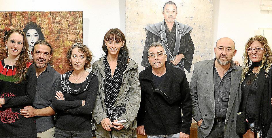 Exposición de obras de Sandra de Jaume en el consulado de Argentina
