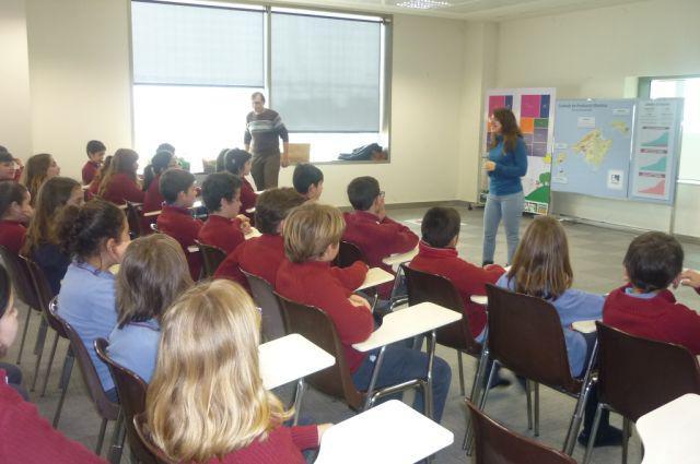 Alumnes del Col·legi Sant Viceç de Paül de Manacor visitaren Grup Serra Endesa i