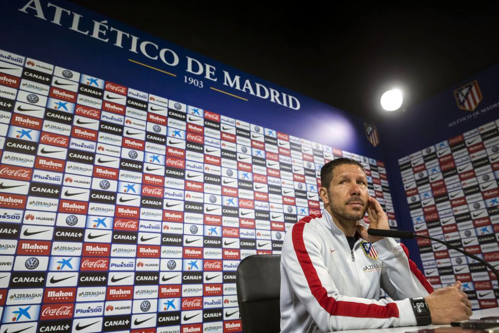 Simeone renueva su contrato con el Atlético de Madrid hasta 2020