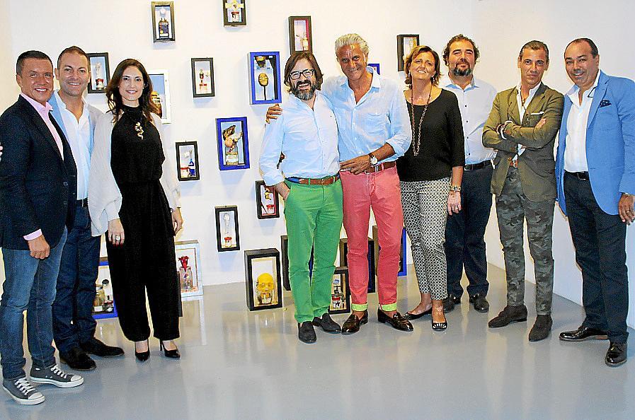 Andrés Planas presenta su obra en la galería Fran Reus de Palma