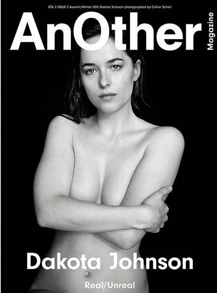 Dakota Johnson Desnuda En La Portada De Una Revista