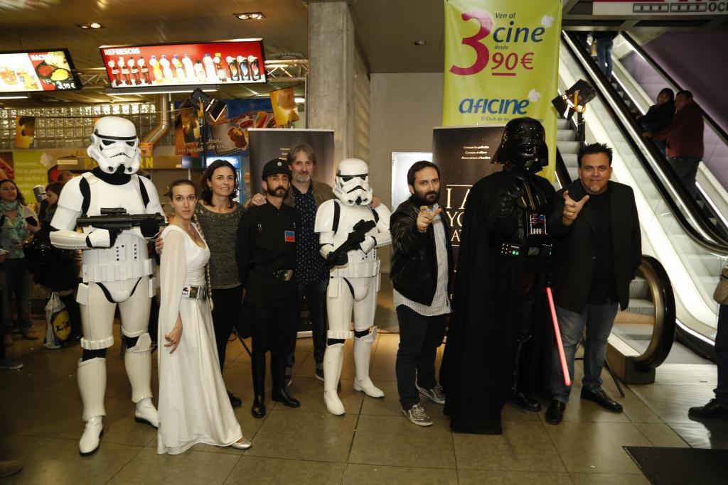 Palma se pasa al 'lado oscuro' con el estreno de 'I am your father'