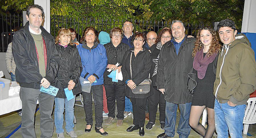 Cena solidaria en Consell a beneficio de Aspaprode